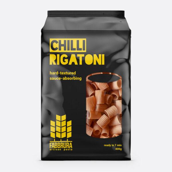 fabbrura chilli rigatoni packaging